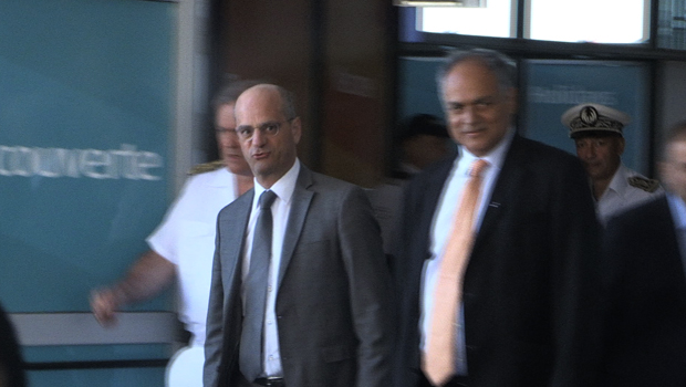 <p>Jean-Michel Blanquer - Ministre - Éducation nationale - Visite - La Réunion</p>