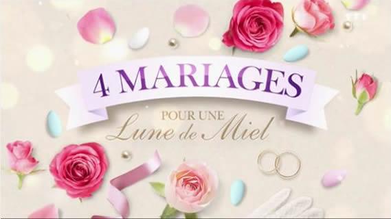 Replay 4 mariages pour une lune de miel - Lundi 23 juillet 2018