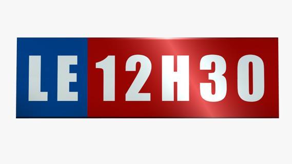 Replay Le 12h30 - Samedi 25 août 2018