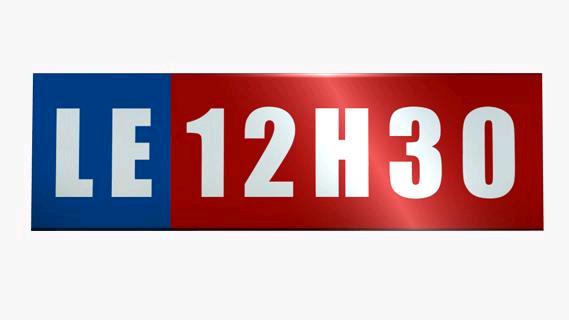 Replay Le 12h30 - Samedi 04 mai 2019