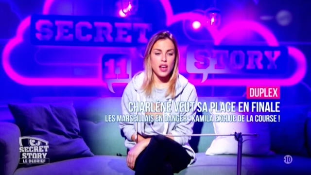 Replay Secret Story - Lundi 27 novembre 2017