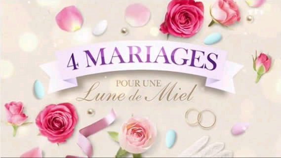 Replay 4 mariages pour une lune de miel - Mardi 18 juin 2019