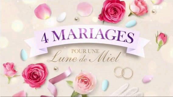 Replay 4 mariages pour une lune de miel - Lundi 30 septembre 2019