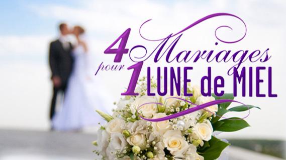 Replay 4 mariages pour une lune de miel - Lundi 20 janvier 2020
