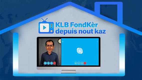 Replay Kanal la blague, fondker depuis nout kaz - Mardi 14 avril 2020