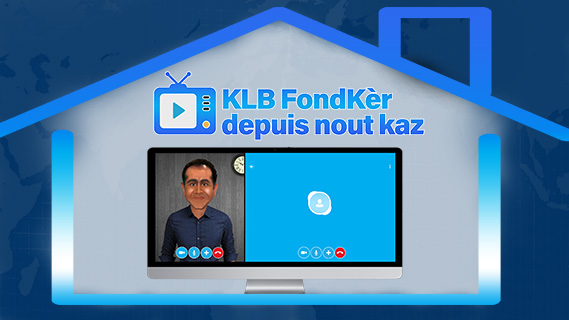 Replay Kanal la blague, fondker depuis nout kaz - Mardi 26 mai 2020